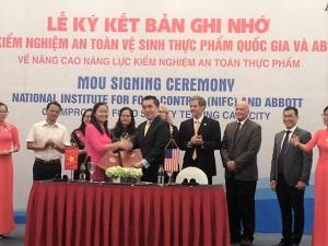 Tập đoàn lớn của Mỹ hỗ trợ Việt Nam nâng cao năng lực kiểm nghiệm ATTP