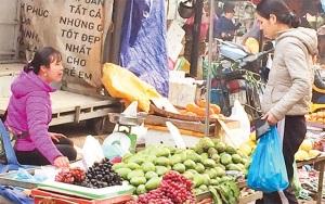Sớm có tiêu chí quản lý thực phẩm, nông sản tại các chợ đầu mối