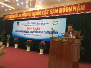 Hội thảo nâng cao nhận thức cho cộng đồng về ATTP tại Bình Định