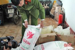 Hà Tĩnh: Phát hiện tiệm bánh mỳ dùng nguyên liệu kém chất lượng