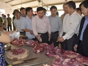 Chủ tịch UBND tỉnh Nghệ An trực tiếp kiểm tra an toàn thực phẩm tại địa phương