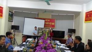 Chi cục An toàn vệ sinh thực phẩm Quảng Bình kiểm tra chéo công tác bảo đảm ATTP năm 2017 tại Chi cục An toàn vệ sinh thực phẩm Hà Nam