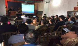 Nam Định: Tập huấn phổ biến các qui định về vệ sinh an toàn và hoạt động thương mại đối với cơ sở sản xuất bao bì, dụng cụ bằng kim loại tiếp xúc trực tiếp với thực phẩm