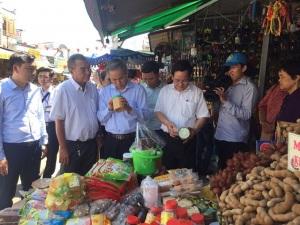 Bộ Y tế kiểm tra công tác ATTP mùa lễ hội tại tỉnh An Giang