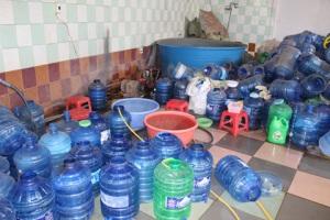 Đình chỉ cơ sở sản xuất nước uống đóng chai