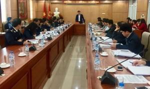 Ban chỉ đạo liên ngành Trung ương về vệ sinh an toàn thực phẩm kiểm tra công tác triển khai Nghị định 15/2018/NĐ-CP tại Cục Hải Quan, thành phố Hải Phòng