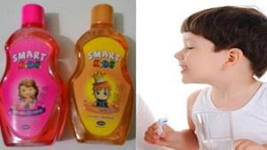 Đình chỉ lưu hành, thu hồi toàn quốc nước súc miệng trẻ em Smart Kids 250 ml (Hương cam)