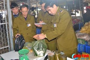 Hà Tĩnh tiến hành kiểm tra ATTP trên toàn tỉnh