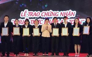 33 đơn vị của SaigonCo.op đạt chứng nhận chuỗi thực phẩm an toàn