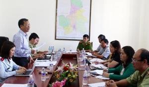 Đoàn thanh, kiểm tra liên ngành số 4 kiểm tra công tác triển khai Tháng hành động vì ATTP tại Đăk Nông