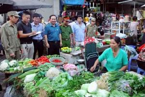 Tích cực giám sát vệ sinh an toàn thực phẩm