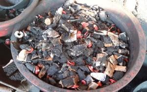 Hơn 3 tấn cà phê trộn lõi pin đã được bán ở Bình Phước