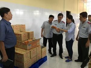 Thanh tra hoạt động dược, mỹ phẩm và an toàn thực phẩm tại 18 tỉnh, thành phố trên cả nước