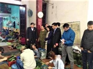 Đoàn công tác giám sát của Quốc hội về việc kiểm tra việc thực hiện chính sách, pháp luật về an toàn thực phẩm tại Thanh Hóa
