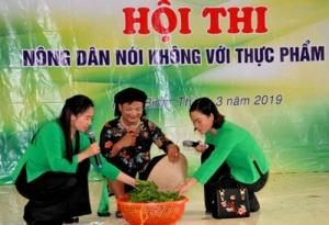Nông dân Cố đô Ninh Bình sổi nổi thi nói không với thực phẩm bẩn