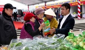 Hội chợ Hàng hóa nông sản thực phẩm Tết Kỷ Hợi: Chung tay xây dựng thương hiệu Việt