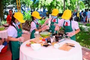 """TP Hồ Chí Minh: Chung kết và trao giải Hội thi """"An toàn vệ sinh thực phẩm cấp tiểu học"""" 2018"""