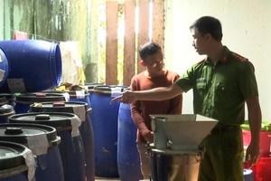 Phát hiện cơ sở chế biến thực phẩm không đảm bảo an toàn vệ sinh