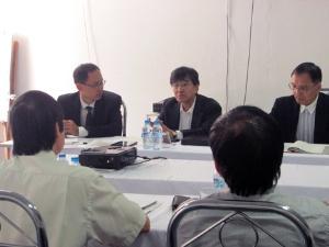 FSI tiếp đoàn đại biểu của Hiệp hội các nhà sản xuất dụng cụ phân tích Nhật Bản (JAIMA)