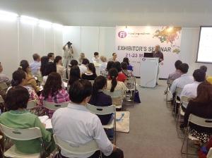 Viện an toàn thực phẩm FSI tham gia hội thảo về phụ gia thực phẩm tại Trung tâm Triển lãm & Hội nghị TP.HCM (SECC)