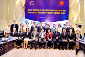 Cuộc họp Nhóm Công tác về Y dược cổ truyền và thực phẩm chức năng ASEAN lần thứ 27 và các Cuộc họp liên quan (TMHSPWG) từ ngày 15-19/5/2017 tại Đà Nẵng, Việt Nam