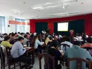 Quảng Ngãi: Tập huấn nâng cao năng lực quản lý an toàn vệ sinh thực phẩm cho cán bộ Phòng Y tế, Trung tâm Y tế dự phòng/Trung tâm Y tế