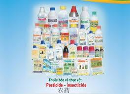 Giới hạn tối đa dư lượng thuốc BVTV sử dụng phổ biến trong sản xuất nông sản