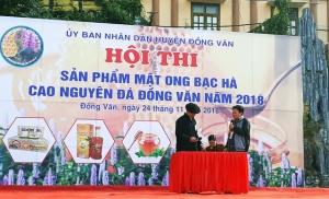 FSI tham dự hội thi sản phẩm mật ong bạc bà Cao nguyên đá Đồng Văn năm 2018